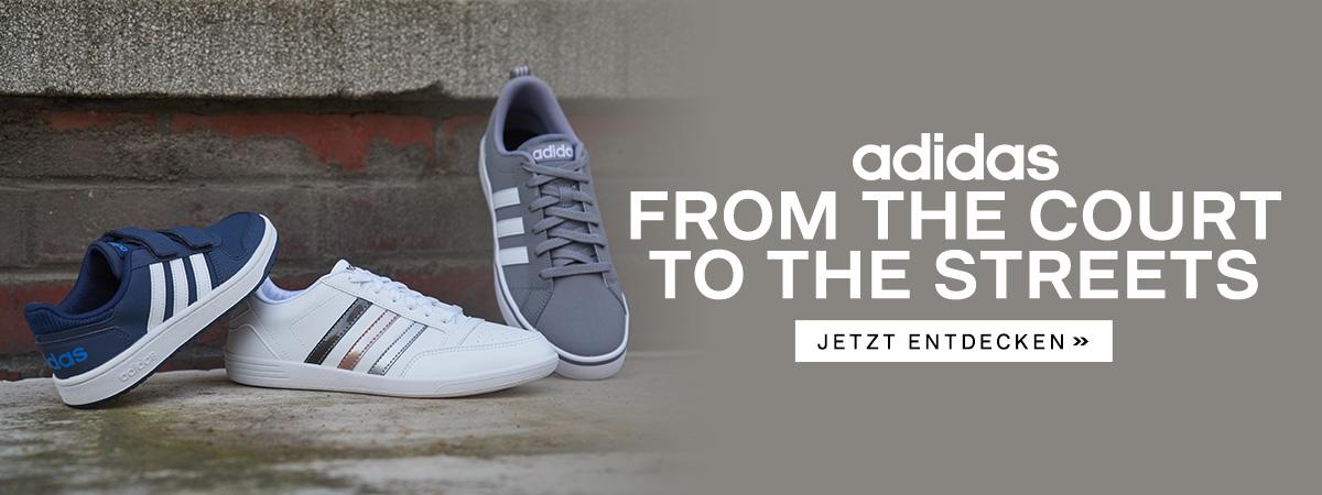 best sneakers 0a08d 6e5d1 Adidas Court Bild