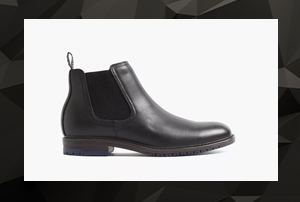 Chelsea Boots Black Week Herren