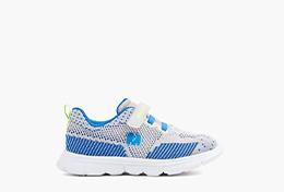 Kids Mini Teaser Sneaker blau grau Elefanten