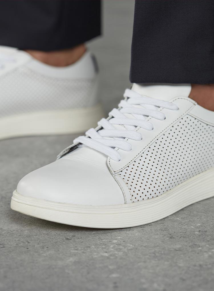 Weisse Business Sneaker