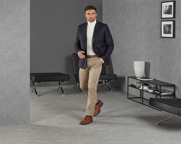 Braune Business Schuhe