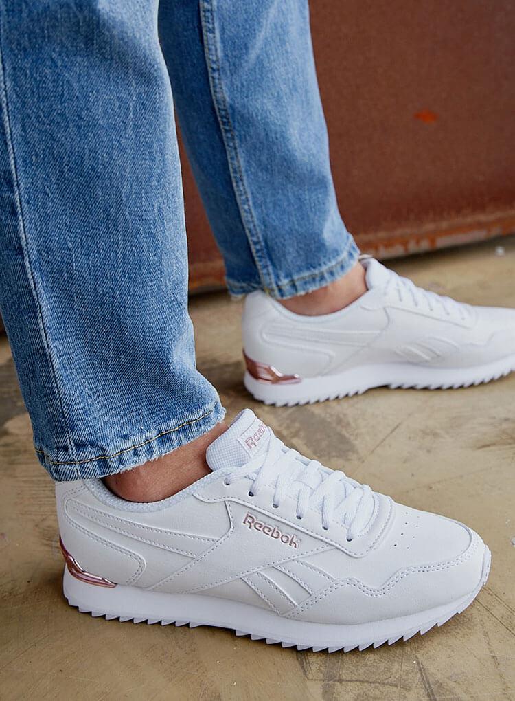 Weisse Sneaker von Reebok