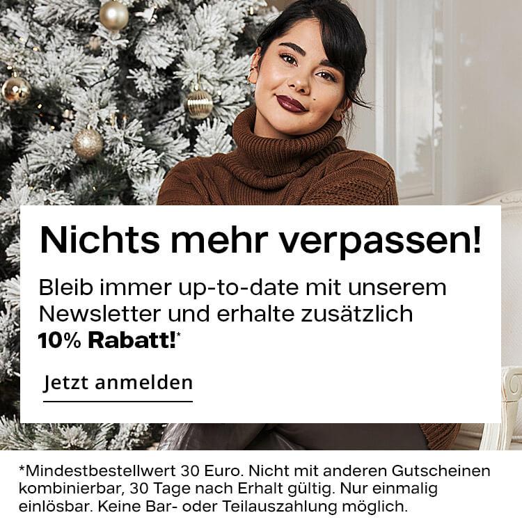 Newsletter Anmeldung fuer Damen