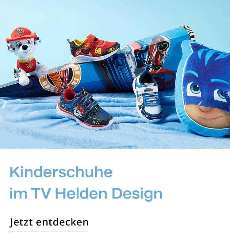 Kinderschuhe mit TV Helden