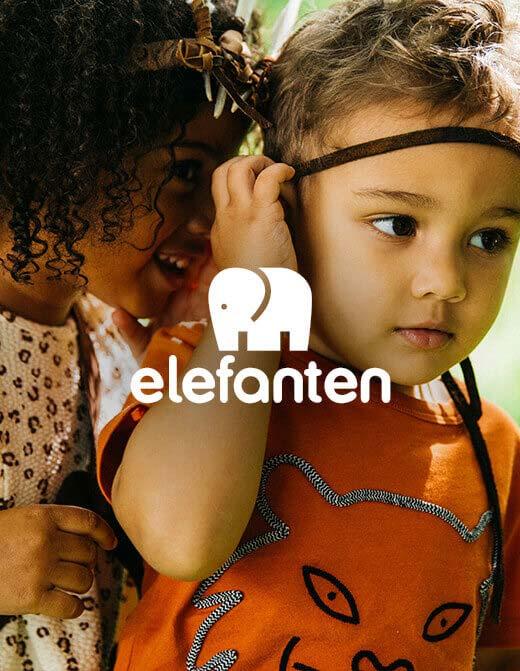 Kinder Marke Elefanten