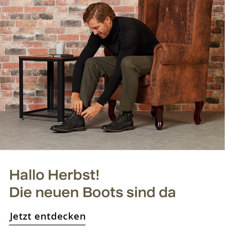 Herren Schuhe Herbst Boots