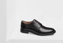 Schwarzer Business-Schuh