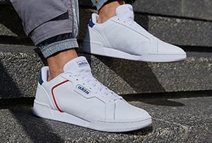 Weisse Sneaker von adidas