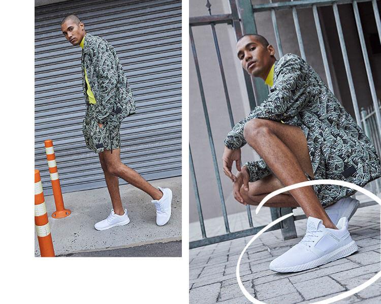 Weisse Sneaker von Kappa