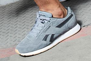 Graue Sneaker von Reebok
