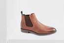 Braune Chelsea-Boots