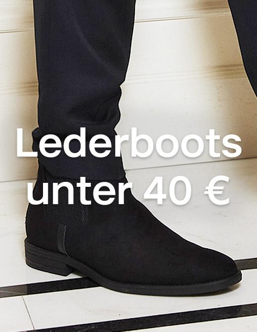 Lederboots unter 40€