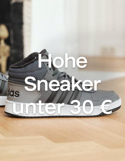 Hohe Sneaker unter 30€