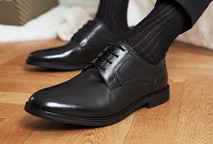 Schwarze Business Schuhe