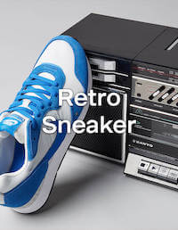Retro Sneaker Schuhe