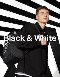 Schwarze und Weisse Schuhe