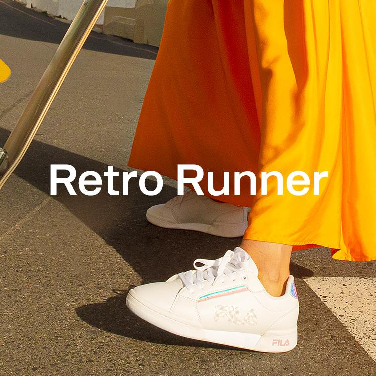 Fila Retro Runner Weiß