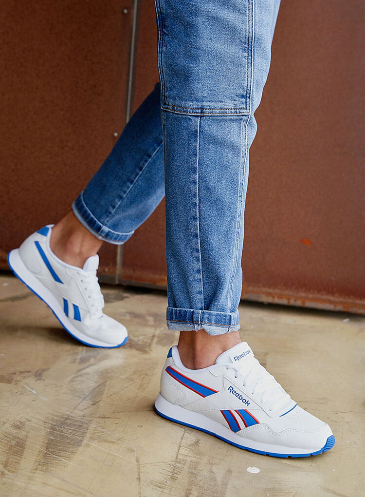 Weiss-blaue Sneaker von Reebok