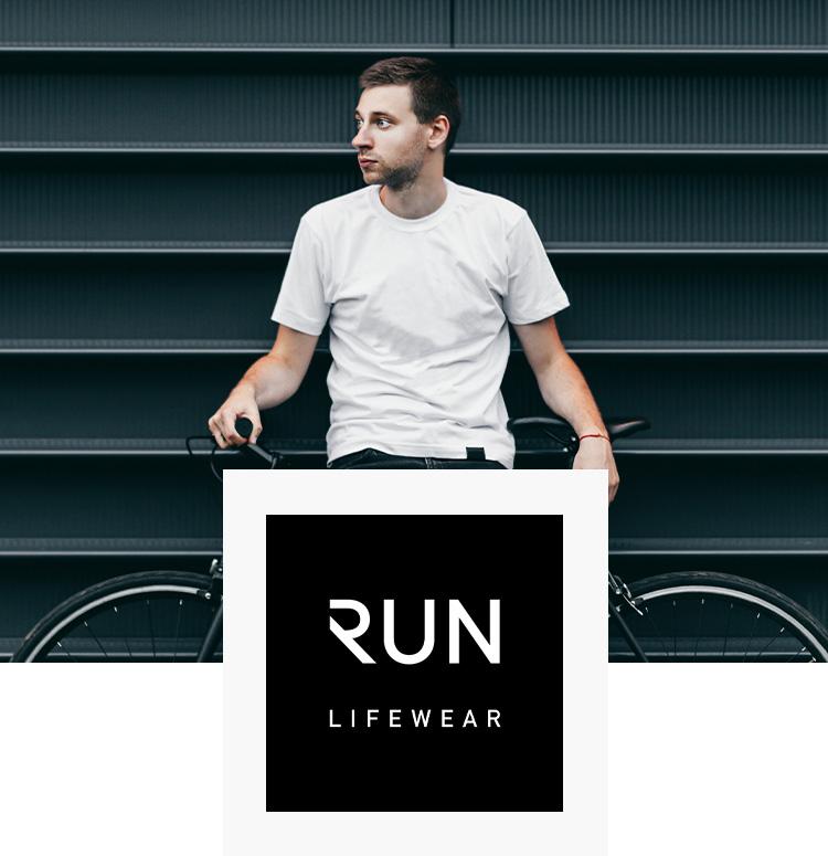 Sportliche RUN Lifewear Schuhe für Herren