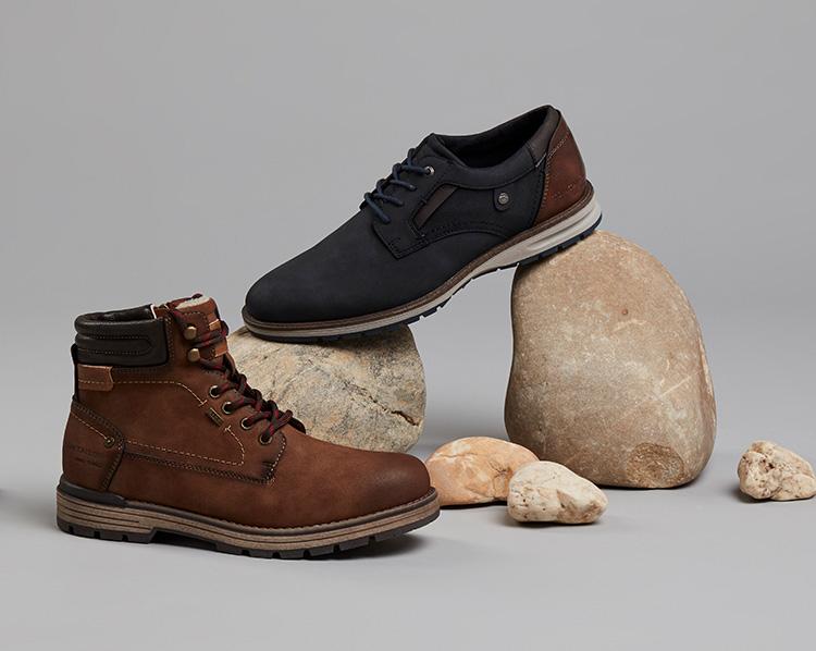 Boots Schnuerer Tom Tailor