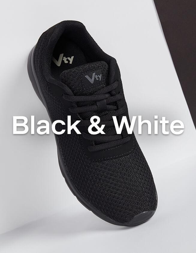 Schwarze Sneaker von Vty