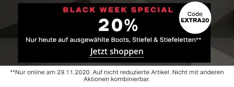 Black Week Special Aktion