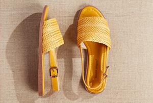 Damen Schuhe mit flachem Absatz