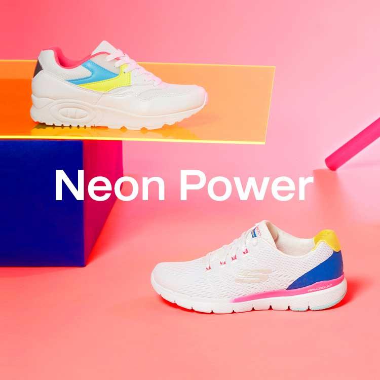 Damen Neon Sneaker