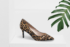 Pumps mit Leoprint