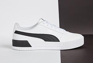 Schwarz-weisse Sneaker von Puma