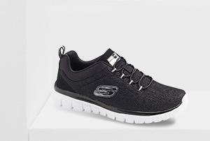 Schwarzer Skechers Sneaker