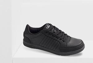 Schwarzer Vty Sneaker