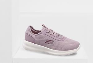 Lila Skechers Sneaker