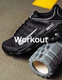 Workout Schuhe und Accessoires